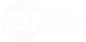 huelva business logo blanco
